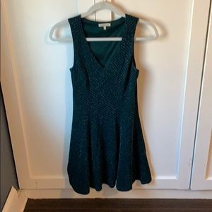 Charlotte Rousse XS Green Sparkle dress